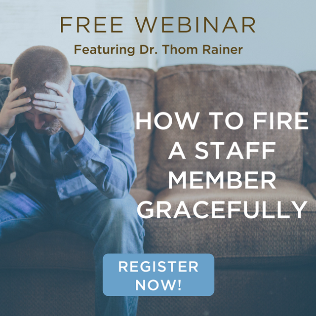 How to Fire A Staff Member Webinar with Thom Rainer
