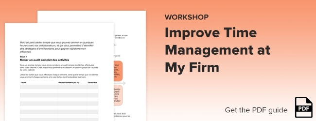 Improve Time Management At My Firm
