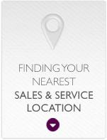 Finding Your Nearest Sales & Service Location