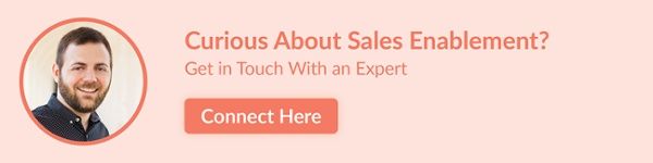 Curious about sales enablement? Get in touch with an expert.