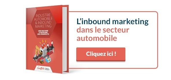 Livre blanc Inbound Marketing secteur automobile