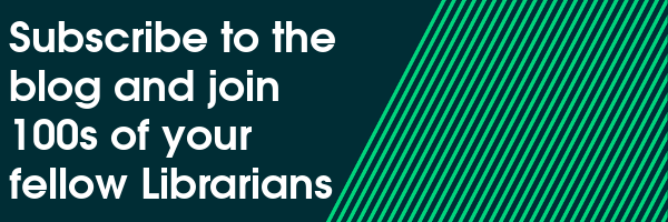 Subscribe to the blog and join 100s of your fellow Librarians