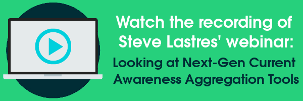 Watch the recording of Steve Lastres' webinar