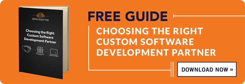 Free Guide - Choosing the right custom software development partner