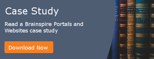 Read a Brainspire Portals and Websites case study