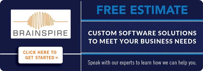 Free Estimate - custom software solutions to meet your business needs