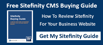 Get Your Free Sitefinity Buying Guide