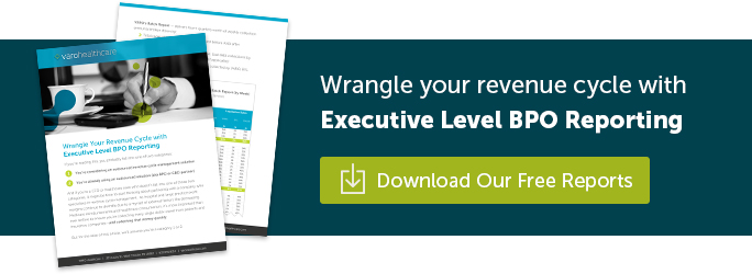 Wrangle your revenue cycle with Executive Level BPO Reporting