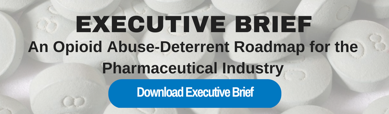 An Opioid Abuse-Deterrent Roadmap for the Pharmaceutical Industry