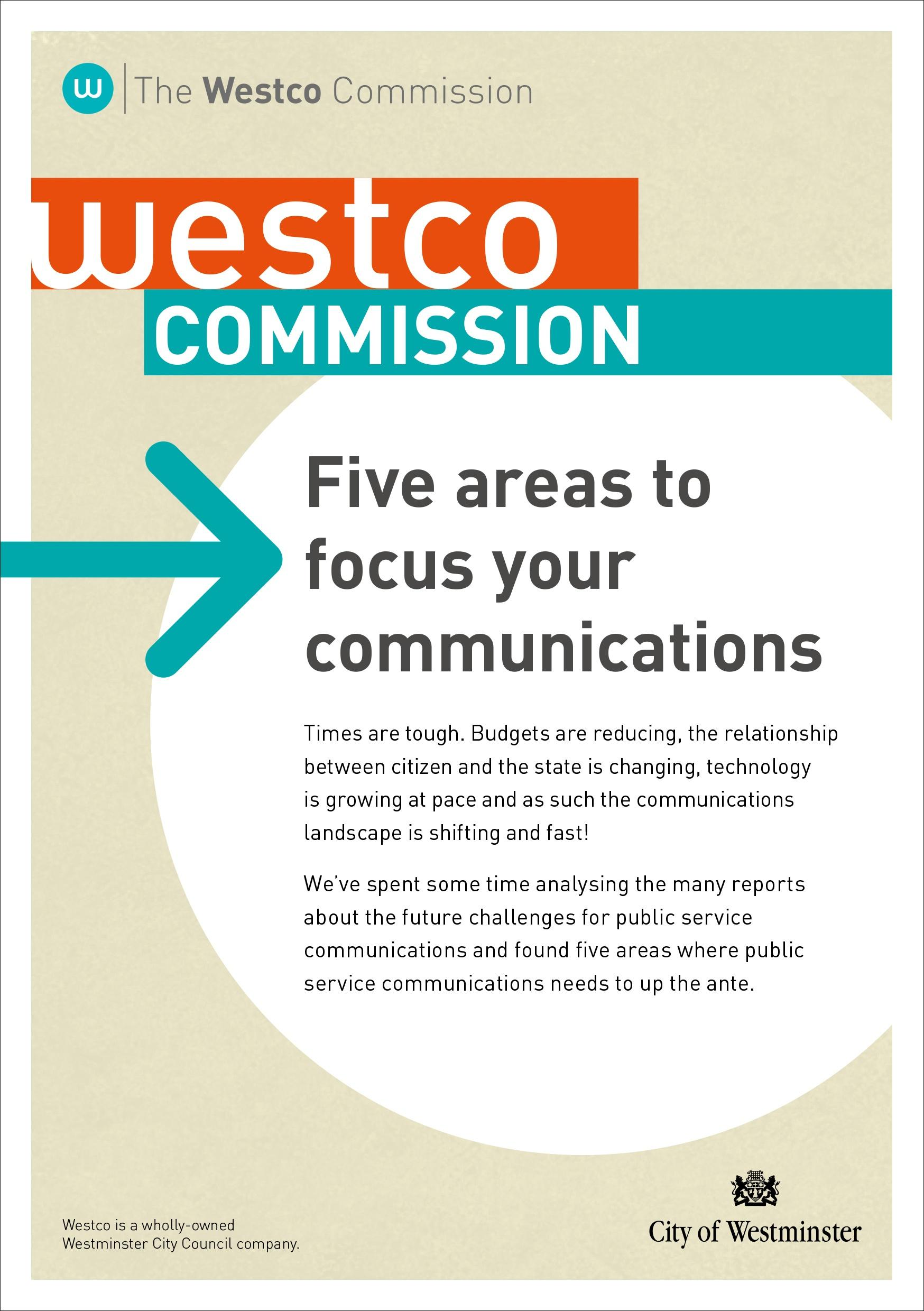 Five areas to focus your communications