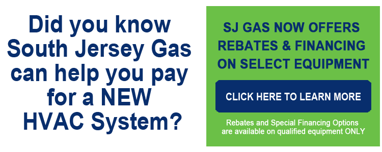 South Jersey Gas Rebates and Financing Options