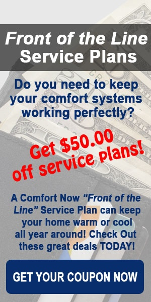 Front of Line Service Plans by Comfort Now