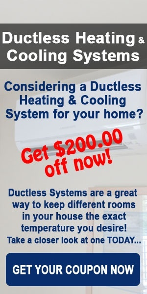 Ductless Heating and Cooling Systems by Comfort Now