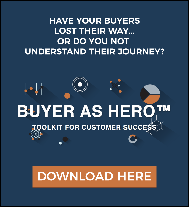 Download the Buyer-as-Hero Toolkit Today and understand Churn and Win/Loss