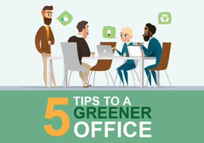 5 Tips to a Greener Office