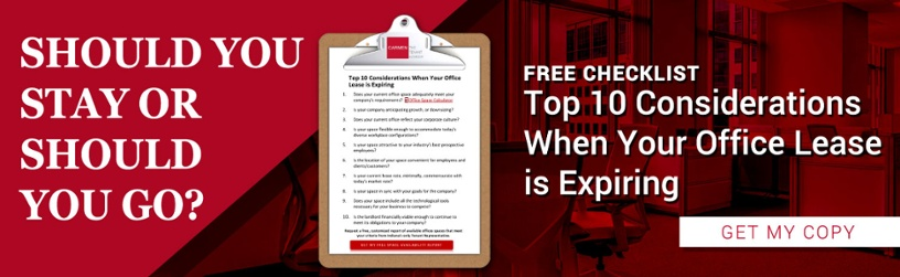 [Free Guide] Should You Say or Should You Go? Top 10 Considerations When Your Office Lease is Expiring