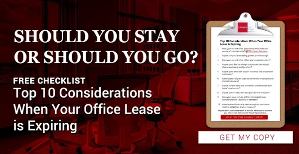 Should You Stay or Should You Go? FREE CHECKLIST: Top 10 Considerations When Your Office Lease is Expiring