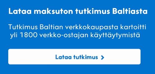 Tutkimus Baltian verkkokaupasta