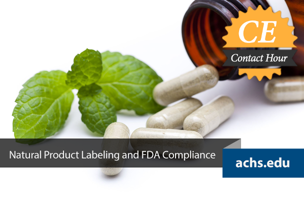 Natural Product Labeling and FDA Compliance