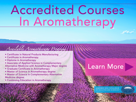 Accredited Courses in Aromatherapy