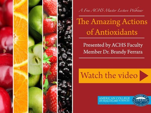 Antioxidants Webinar
