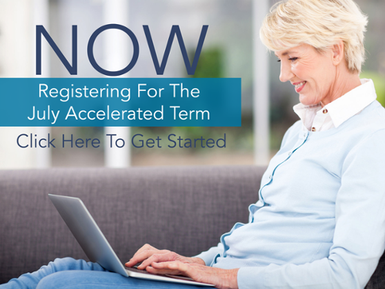 Register for the July Acclerated Term
