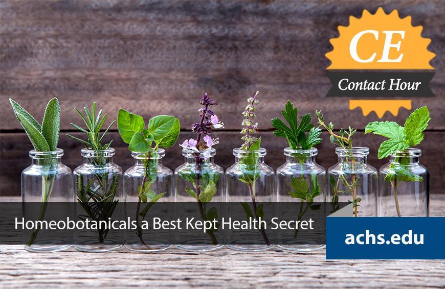 Homeobotanicals a Best Kept Health Secret