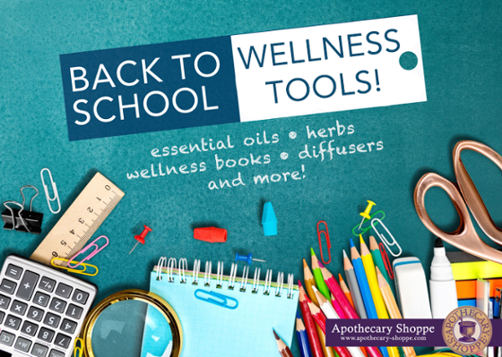 Back to School Tools for Wellness!