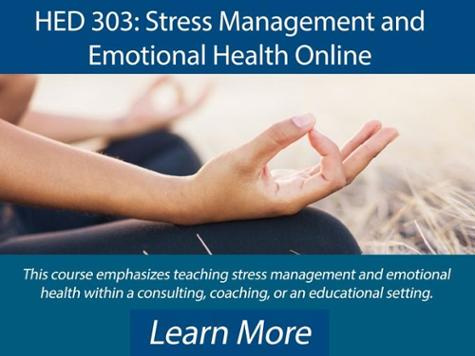 Stress Management and Emotional Health Online