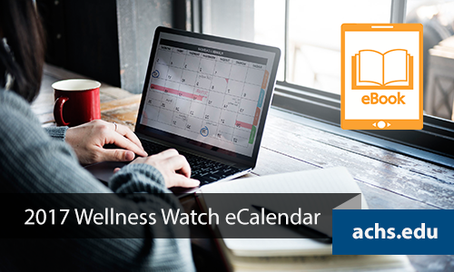 ACHS 2017 Wellness Watch eCalendar