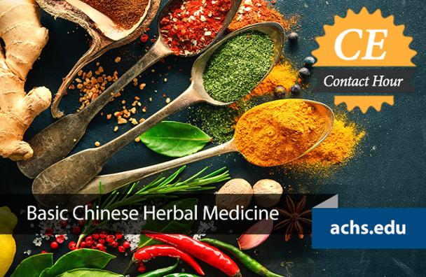 Basic Chinese Herbal Medicine CE Class