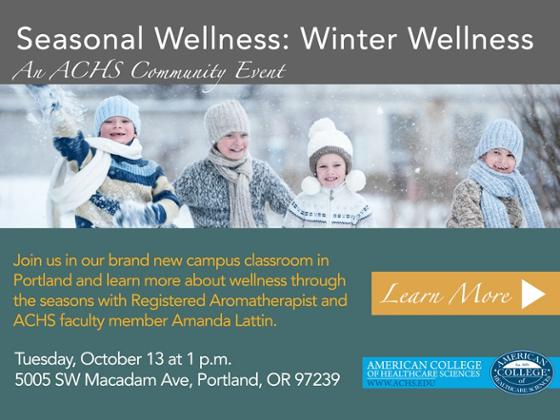 Seasonal Wellness: Winter Wellness with Amanda Lattin, RA