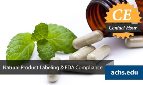 Natural Product Labeling Webinar