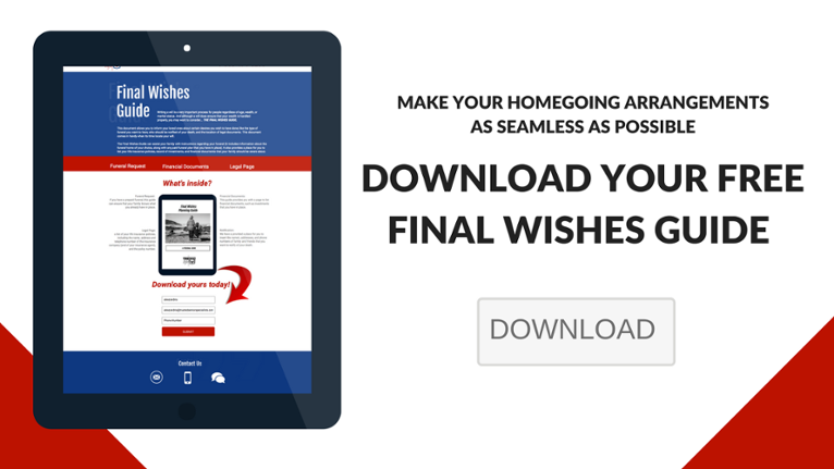 Click here to download your free Final Wishes Guide