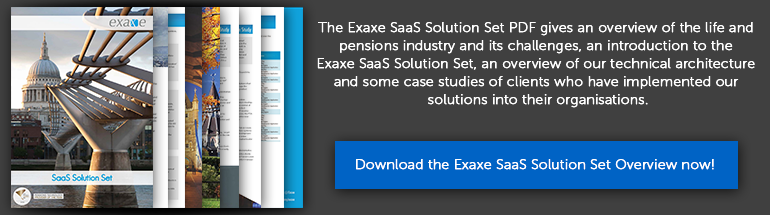 Download the Exaxe SaaS Solution Set Overview now!
