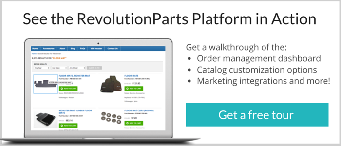see the revolutionparts platform in action