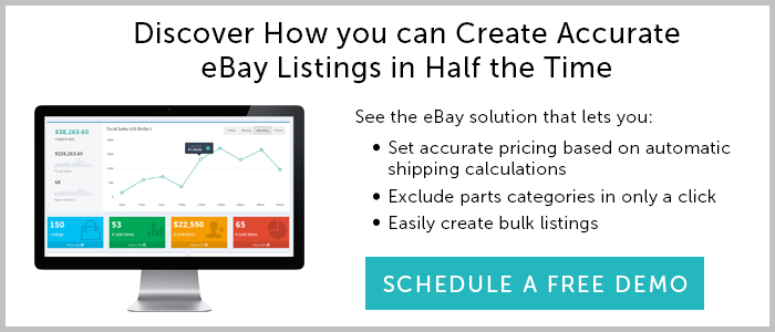See a demo of the RevolutionParts eBay solution