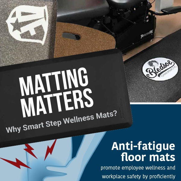 Matting Matters Smart Step Wellness Mats graphic
