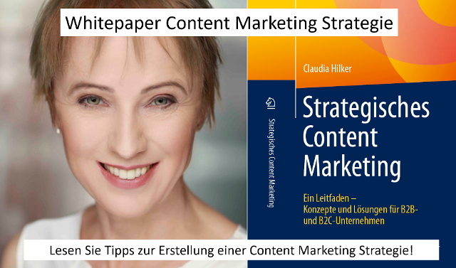 Whitepaper Content Marketing Strategie Claudia Hilker