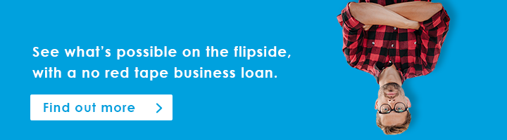See what's possible on the flipside with a no red tape business loan