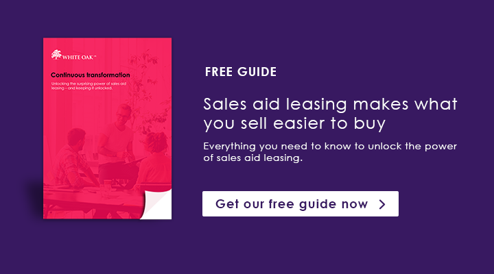Unlock the power of sales aid leasing