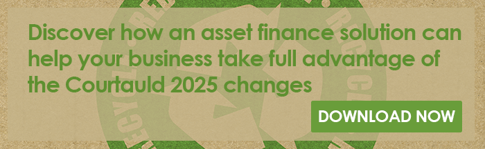 Discover how an asset finance solution can help your business take advantage of the EPR changes