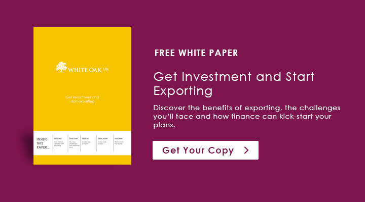 Get Investment and Start Exporting - White Paper