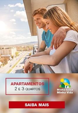 apartamentos 2 e 3 quartos no minha casa minha vida