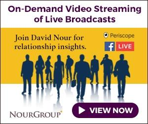 David Nour on Facebook Live and Periscope
