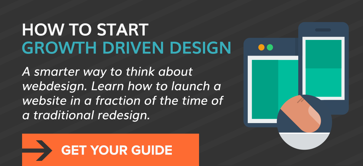 How to start growth driven design