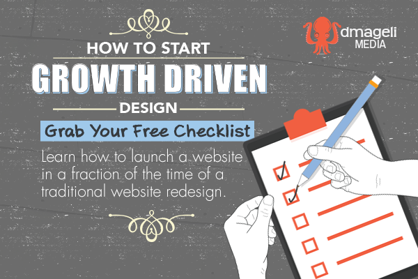 How to Start Growth Driven Design - Grab your free checklist