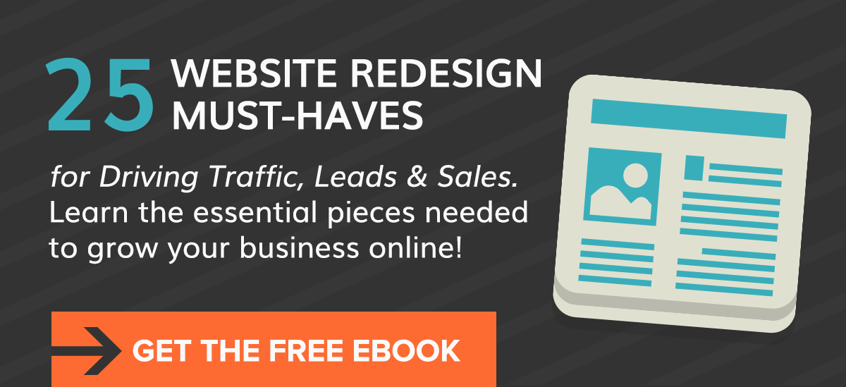 25 Website Redesign Must-haves eBook