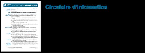 Téléchargez le circulaire d'information
