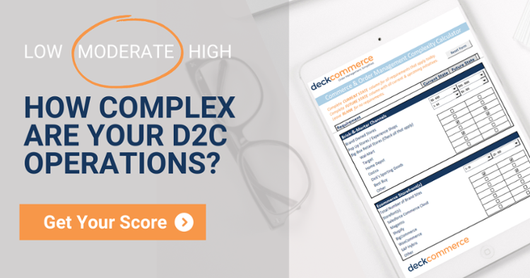 How complex are your D2C operations? Get your score.